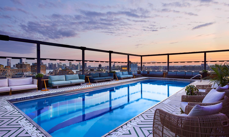 Les piscines en els terrats més espectaculars