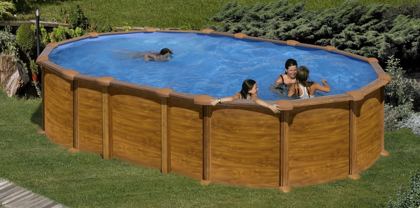 Preparació del terreny per a instal·lar una piscina desmuntable